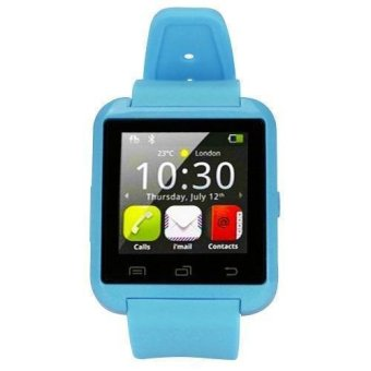 Modoex M8 Bluetooth Smart Watch (Blue) Buy 1 Take 1 - 2