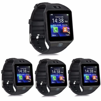 Modoex M9 Phone Quad Smart Watch (Black) Set of 4