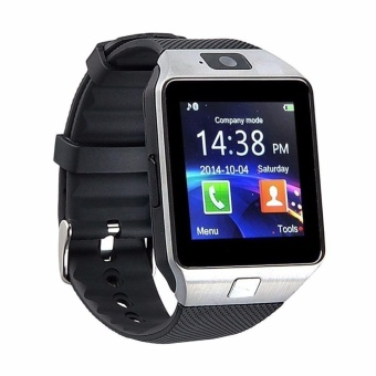 Modoex M9 Phone Quad Smart Watch (Silver)
