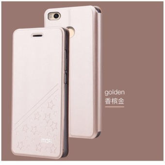 Mofi Flip PU Leather Fashion Star Phone Case for Xiaomi Mi Max 2with Stand Function - intl