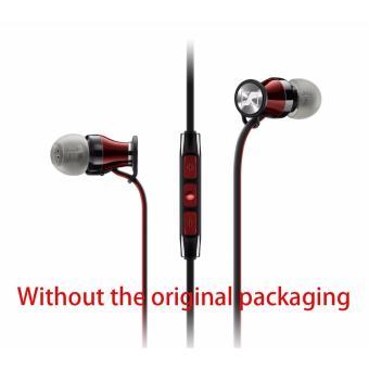 MOMENTUM In Ear Red Chrome M2 IEG Headphones Earphone Headset ForAndroid - intl