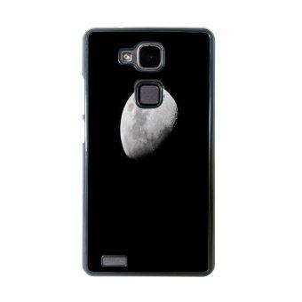 Moon Night Pattern Phone Case for Huawei Mate 7 (Black)
