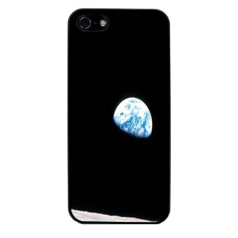 Moon Night Pattern Phone Case for iPhone 5C (Black)