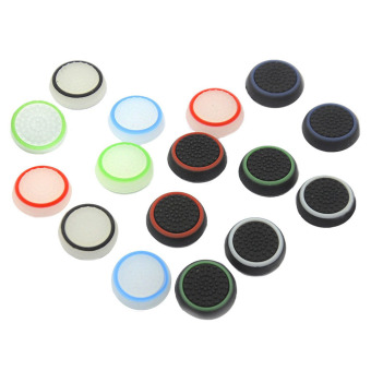 Moonar 16pcs/8 Pairs Silicone Thumb Stick Grip Caps Protect Coverfor PS4/3 and XBOXone/360 Price Philippines