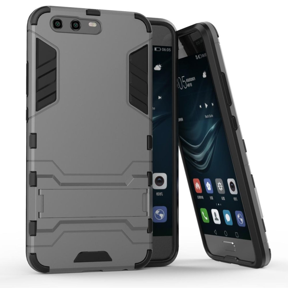 ... Mooncase Case For Huawei P10 Detachable 2 in 1 Hybrid Armor CaseDual-Layer Shockproof Case ...
