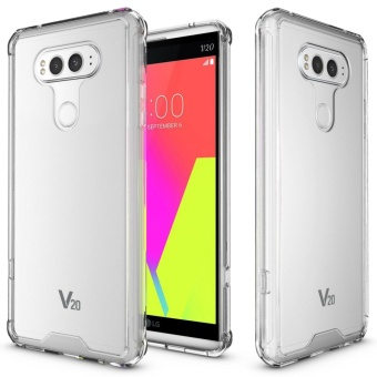 Mooncase for LG V20 Anti Shock Transparent Back Case Soft Thin TPUCase Cover Clear