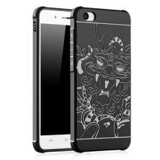 PHP 615. Moonmini for Vivo Y55 3D Dragon Relief Ultra Thin Soft Silicone Rubber Case Shockproof ...
