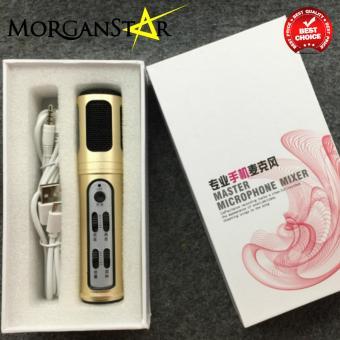 Morganstar Q30 Condenser Sound Recording Microphone (Pink) - 4