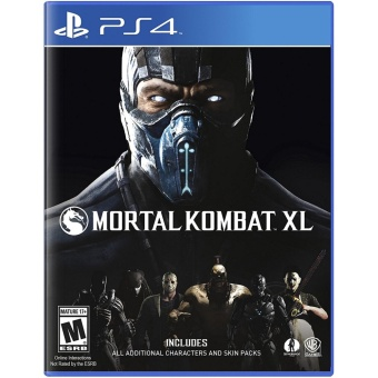 MORTAL KOMBAT XL PS4 GAME R3,R1 MINT CONDITION