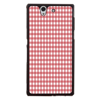 Mosaic Check Pattern Phone Case for Sony Xperia Z L36H (Multicolor)