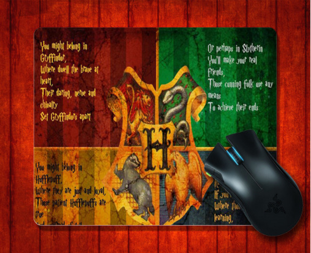 MousePad harry potter for 240*200*3mm Mouse mat Gaming Mice Pad -intl