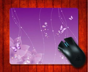 mat 240 200 3mm Gaming Mice Pad Source Philippines MousePad Violet Butterflies And .