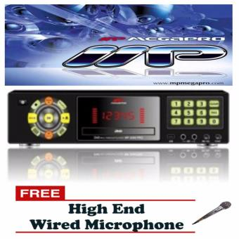 MP-2000 PRO Megapro Player w/ 30,000 Songs w/ Free High-EncMicrophone