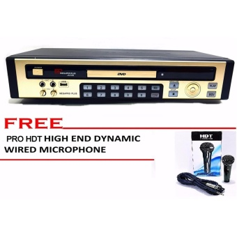 MP MEGAPRO PLUS JACOB Karaoke DVD/Computerized Music Instrumentplayer With Free Hi-end Dynamic Microphone