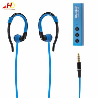 MS808 Bluetooth Wireless Sport Earphone/Headphone (Blue) Price Philippines