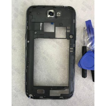 Mtmaiten Middle Frame Bezel For Samsung Galaxy Note 2 II N7100middle frame Housing Replacement Parts Cases Tools - intl