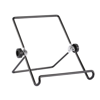 Multi-angle Adjustable Portable Foldable Metal Non-slip Stand Holder for iPad Tablet (Big Size) - intl