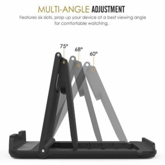 Multi-angle Desk Stand for mobile phone and mini tablet - 3