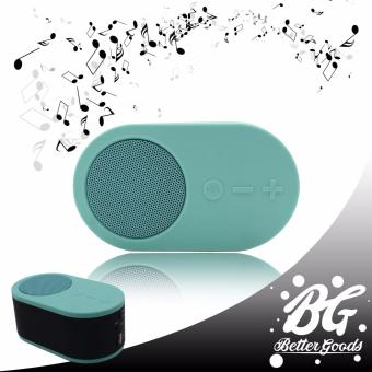Music RK-912 Mini portable wireless bluetooth speaker (turquoisecolor)