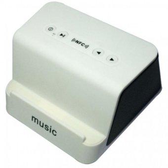 Music Wireless Bluetooth NFC Speaker (White)