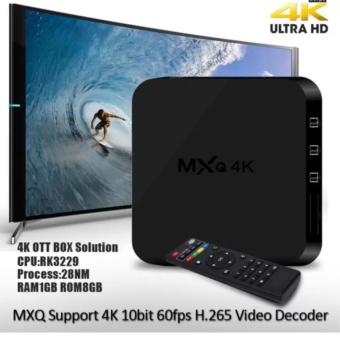 MXQ Pro 4K Ultra HD TV Box Wireless Wifi Quad Core Android Lolipop 5.1 Smart Streaming Media Player (Black) - 2