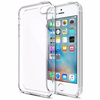 MyPro Fusion Premium TPU/PC Crystal clear cover case for 5/5S/SE(Clear)