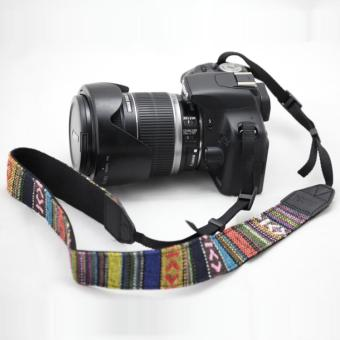 N07 retro fine striped shoulder strap widened shoulder strap