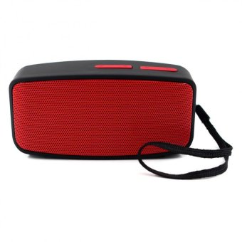 N10 U Mini Bluetooth Speaker with FM Function (Red) - 2
