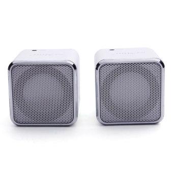 Nakamichi MYMINI Plus 2 Portable Speaker (Silver)