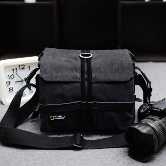National Geographic retro canvas shoulder male women's bag SLR camera bag