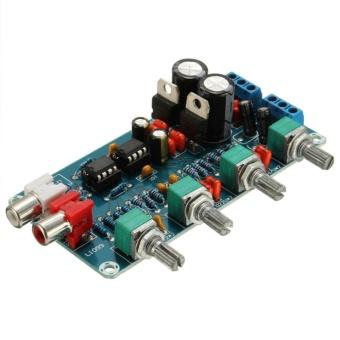 NE5532 OP-AMP HIFI Preamp Preamplifier Volume Tone EQ Control Board Module DIY - intl - 3