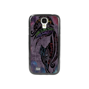 Nebula Pattern Phone Case for Samsung Galaxy S4 (Black)