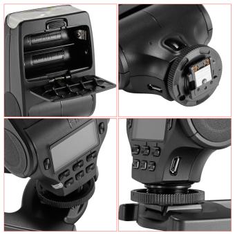 Neewer MK320 TTL LCD Display Speedlite for Sony - 3