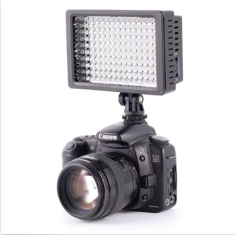 Neewer OE-160C Dimmable LED Barndoor On Camera Video Light forCanon - intl - 5