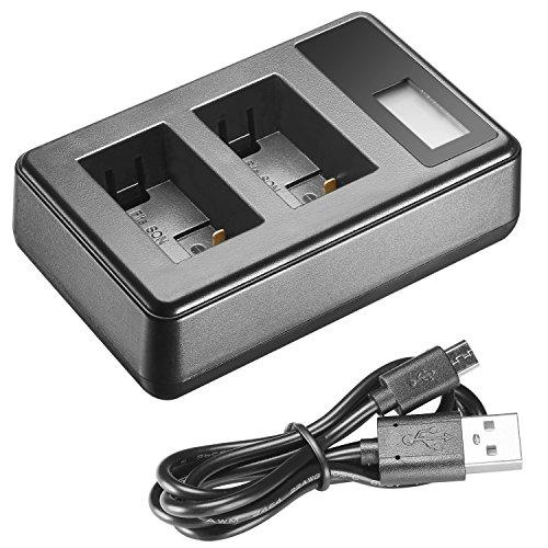 Neewer USB Dual Battery Charger With LED Display For Sony NP-FW50Battery For Sony NEX