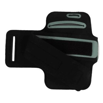 Neoprene Sports Gym Armband Cover For Samsung Galaxy S3/S4 (Black) - 3