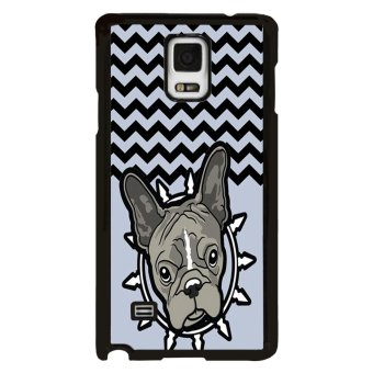 Never Grow Up Pattern Phone Case for HTC One M8 (Blue)