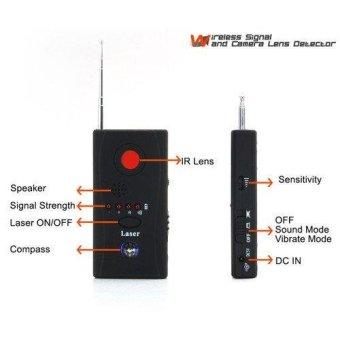 New Anti-spy Signal Bug Rf Detector Hidden Camera Lens GSM Device Finder Monitor Full-range Al-round CC308+ - intl - 2