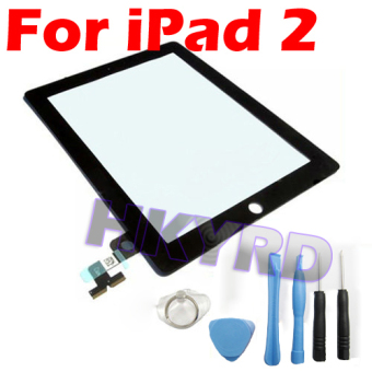 New Black Touch Screen Glass Digitizer fit for iPad 2- - intl
