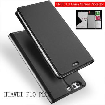 New Crashproof Flip Leather Magnet Phone Case for HUAWEI P10 PLUS - intl