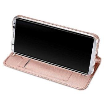 New Crashproof Flip Leather Magnet Phone Case for Samsung S8 - intl - 4