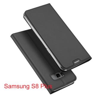 New Crashproof Flip Leather Magnet Phone Case for Samsung S8 Plus - intl Price Philippines