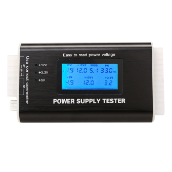 NEW Digital LCD Power Supply Tester (Black) Price Philippines
