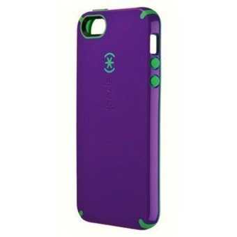 New Gory Speck Products CandyShell Case for iPhone 7 & 7 -Retail Packaging - Speck CandyShell Case Grape Purple/MalachiteGreen for iPhone 7 by AT&T - intl Price Philippines