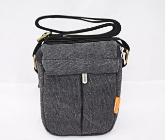 New Shockproof Camera Shoulder Strap Canvas Bag Case Cover forCanon EOS M10 M2 M3 Camera - intl Price Philippines