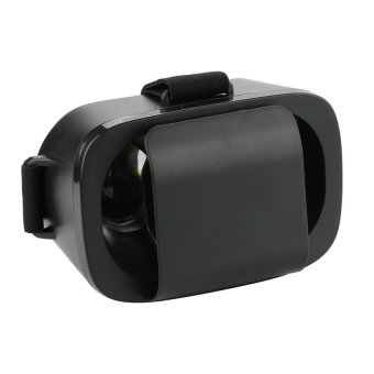 New Vision Mini VR Box 3D Headset Glasses for 4.7 to 6Inch Smartphones/IOS/Android (Black)