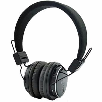 Nia Q8 Over-The-Ear Bluetooth Headphones with Call function, FMRadio, AUX/Micro SD Slot (Black)