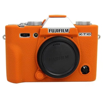 Nice Camera Video Bag For Fujifilm XT10 X-T10 XT20 X-T20 SiliconeCase Rubber Camera case Protective Body Cover Skin - intl