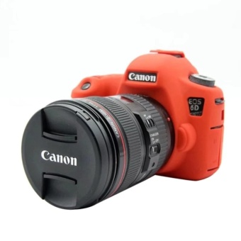 Nice Soft Silicone Rubber Camera Protective Body Cover Case Skin For Canon EOS 6D Camera Bag - intl