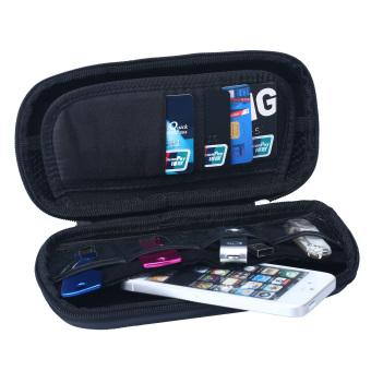 niceEshop Big Capacity USB Flash Drive Bag Digital Gadget Case (Black) - 2